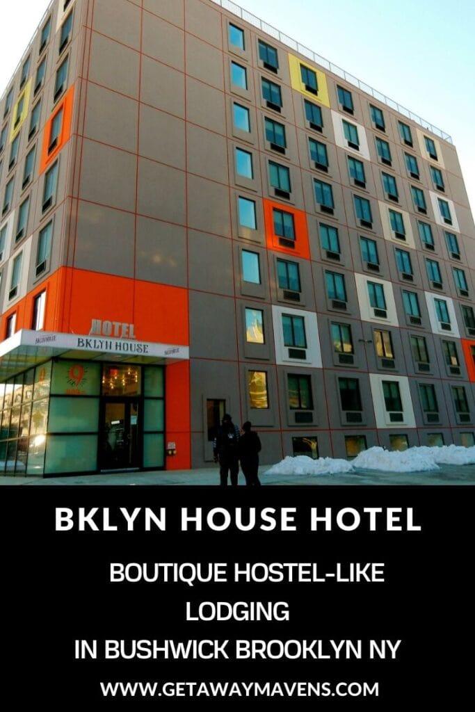 BKLYN House Hotel Brooklyn NY Pin