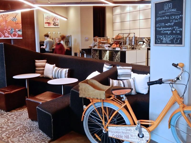 Breakfast, NU Hotel Brooklyn NY