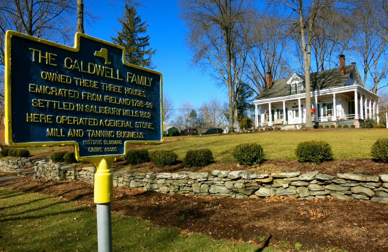 Caldwell House on Historic Register, Salisbury Mills NY