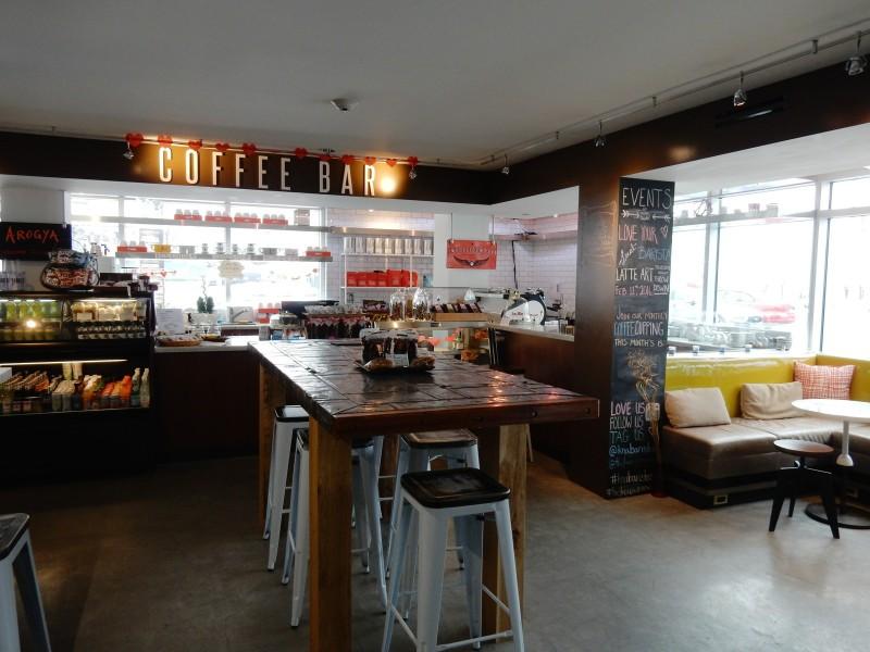 Coffee Bar, J-House Greenwich CT