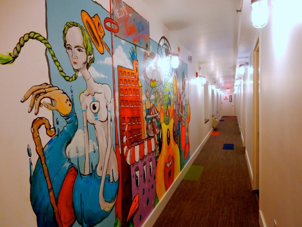 Coney Island Mural, BKLYN House Hotel NY