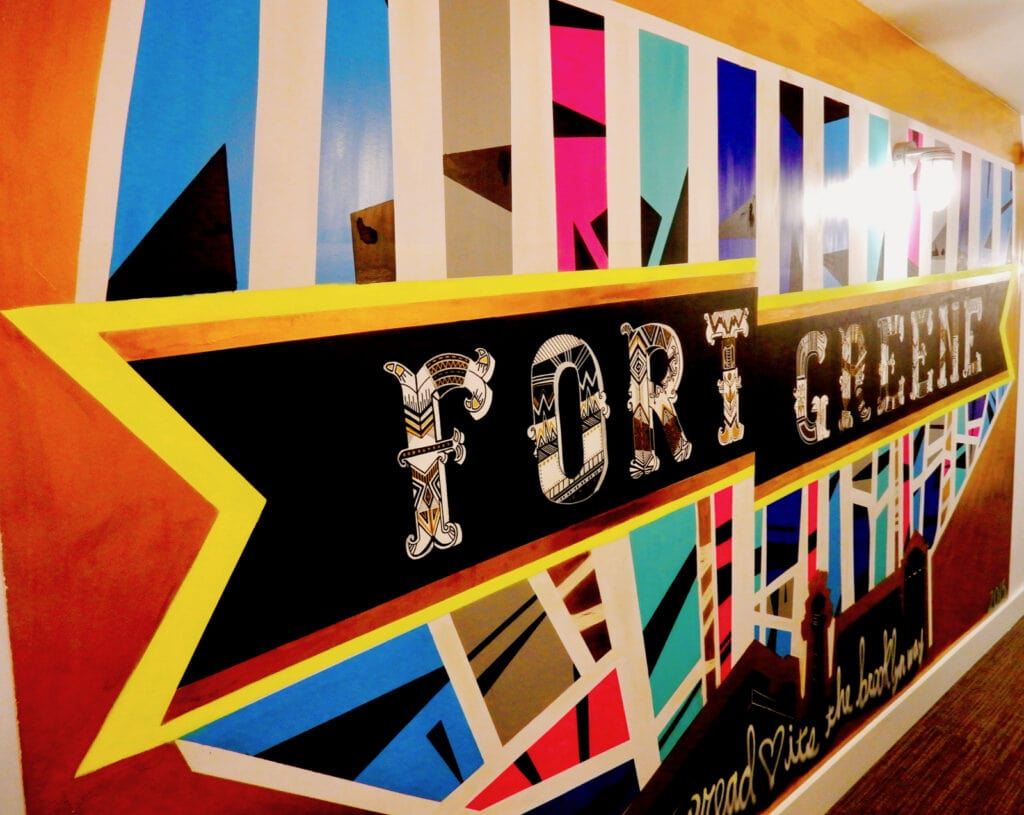 Fort Green Mural BKLYN House Hotel