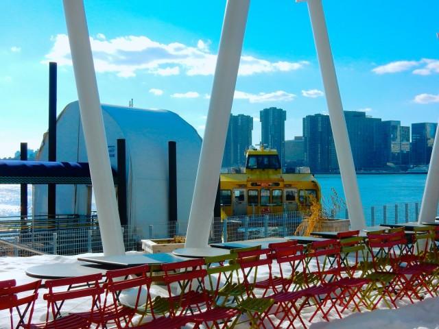 Hudson River Ferry, Long Island City NY