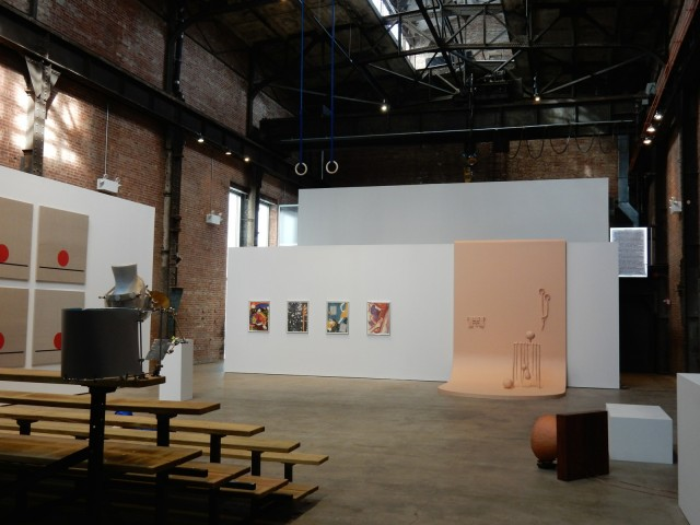 Interior, Sculpture Center, Long Island City NY