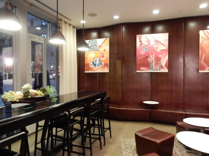 Lobby 2, NU Hotel Brooklyn NY