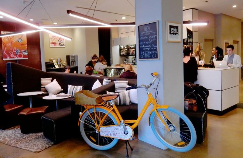 Lobby, NU Hotel Brooklyn NY