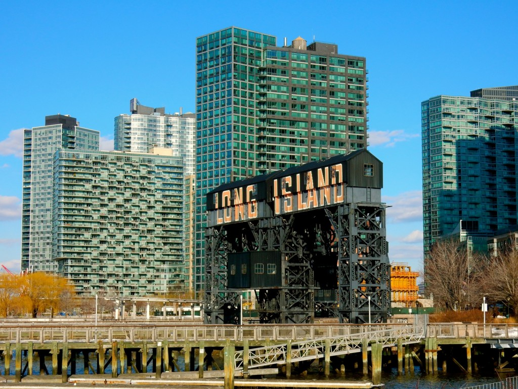 Long Island sign in Long Island City NY