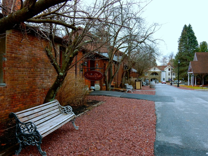 Main lane of Brotherhood Winery, Washingtonville NY