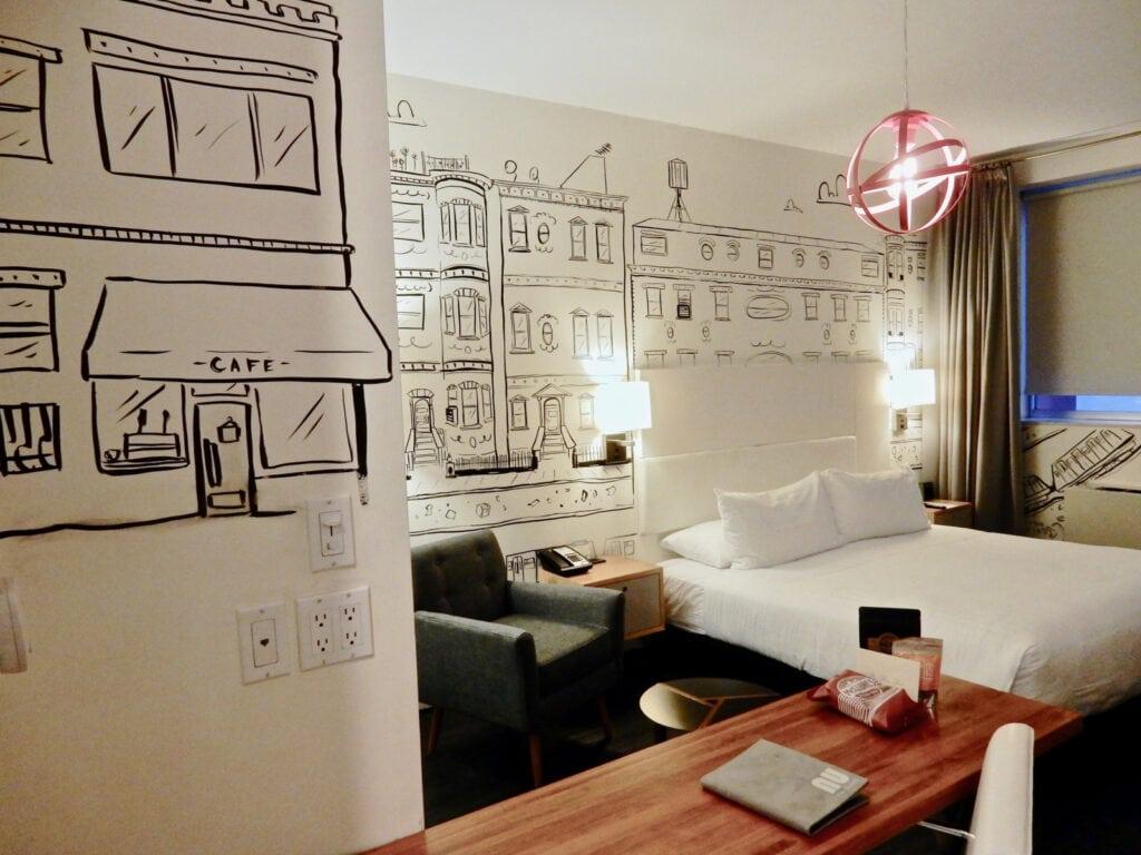 NU Hotel Guest Room Brooklyn NY