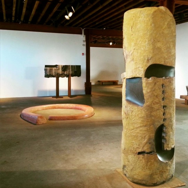 Noguchi Sculptures, Long Island City NY