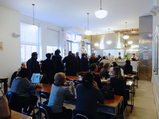 PS 1 Cafe, Long Island City NY