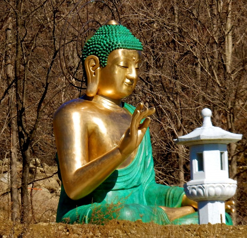 Won Kak Sa Korean Buddhist Temple, Salisbury Mills NY