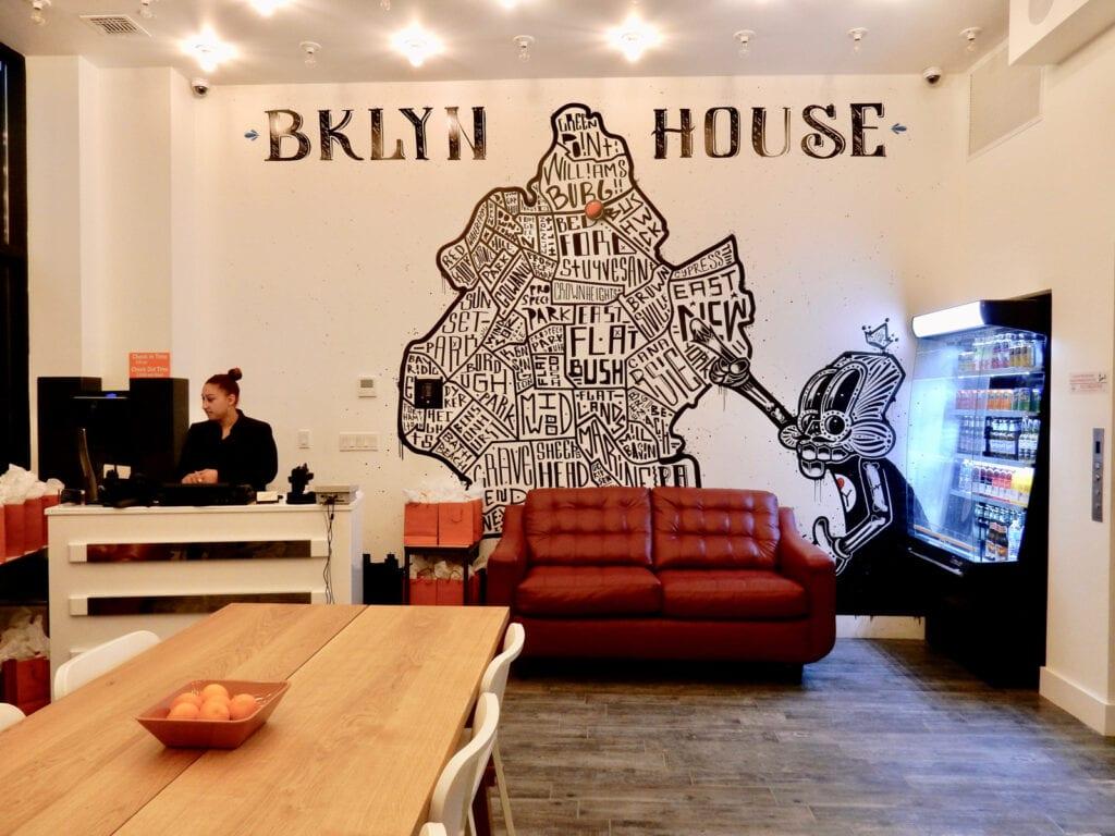 Lobby BKLYN House Hotel