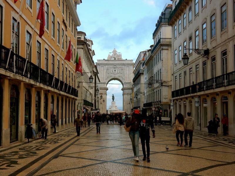 Arco da Rua Augusta, Lisbon Portugal