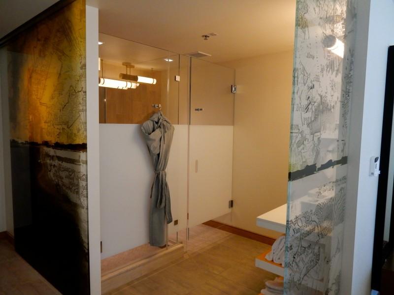 Bathroom, Envoy Hotel, Boston MA