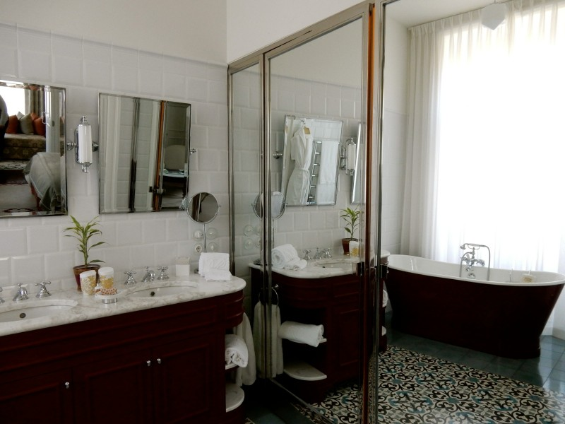 Bathroom, Vidago Palace Hotel, Portugal