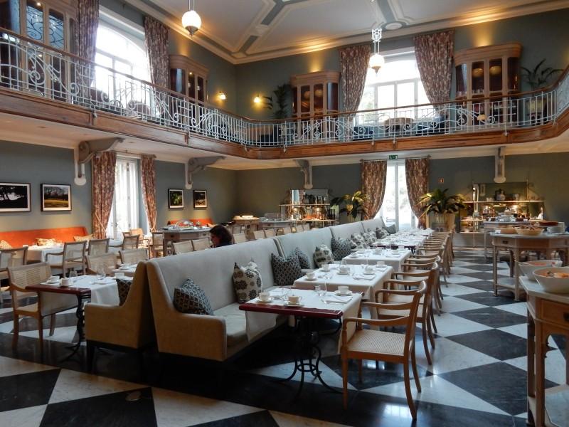 Breakfast room, Vidago Palace Hotel, Portugal