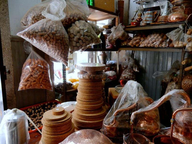 Casa Das Rolhas cork shop, Porto Portugal