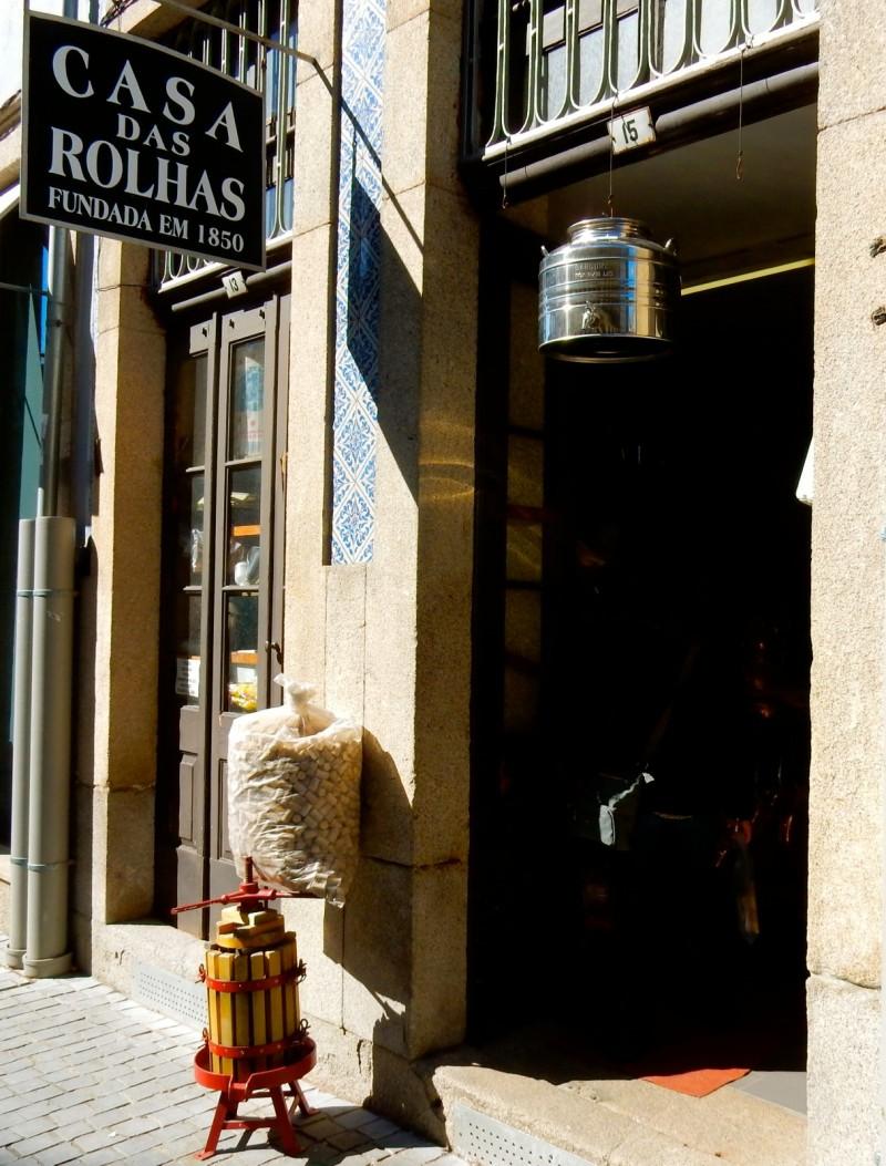 Casa Del Rolhas, 1850 cork shop, Porto Portugal