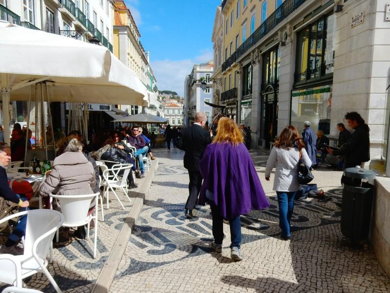 Chiado Shopping area, Lisbon Portugal