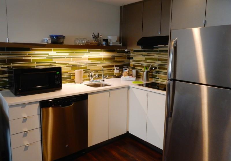 Element Hotel Kitchen, Boston MA