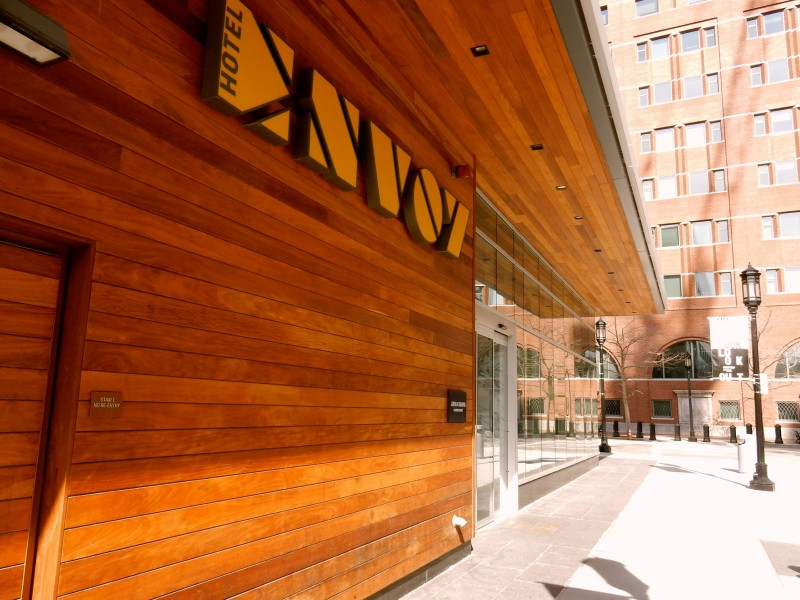 Envoy Hotel Exterior, Boston MA