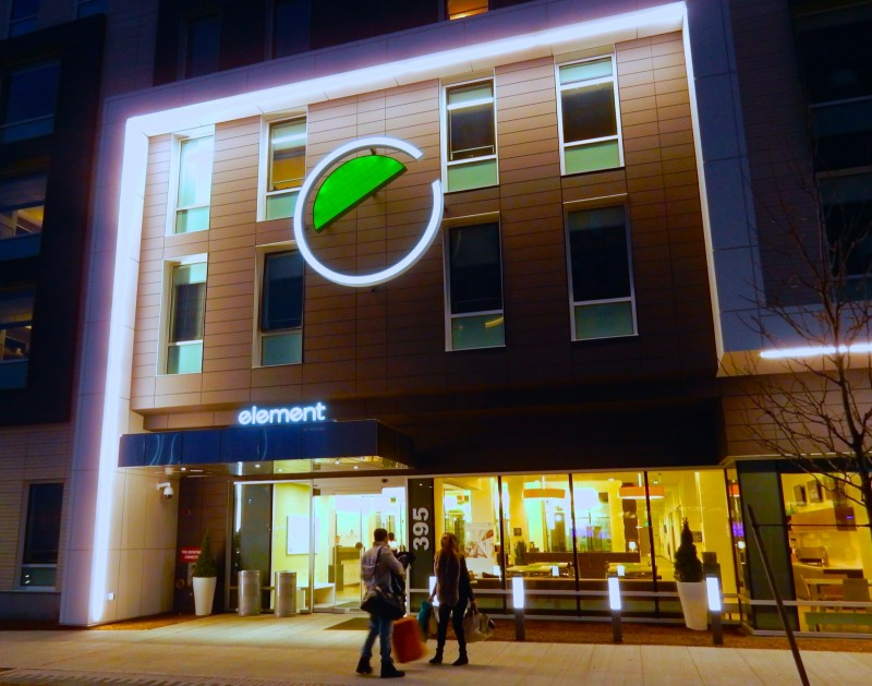 Exterior, Element Hotel, Boston MA