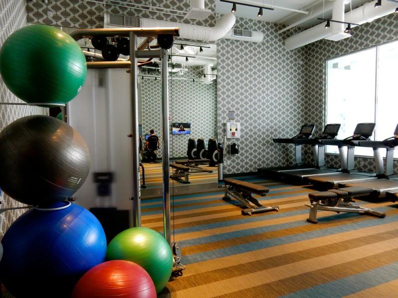Fitness Center, Aloft Hotel Boston MA
