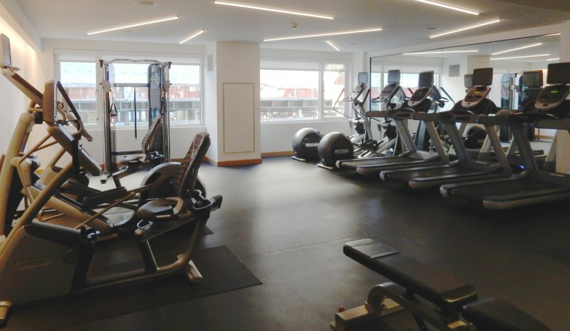 Fitness Center, Envoy Hotel, Boston MA