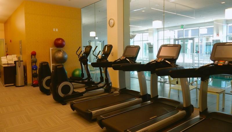 Fitness Center, Pool, Element Hotel Boston MA