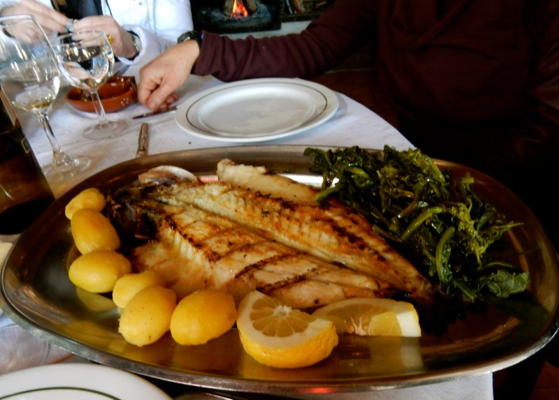 Grilled Sea Bass, Portugal
