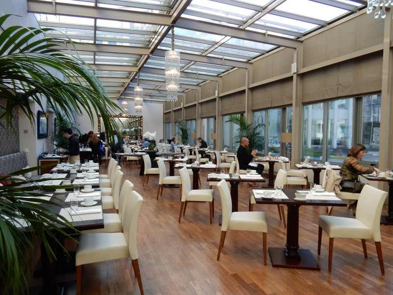 Intercontinental Porto Breakfast Room