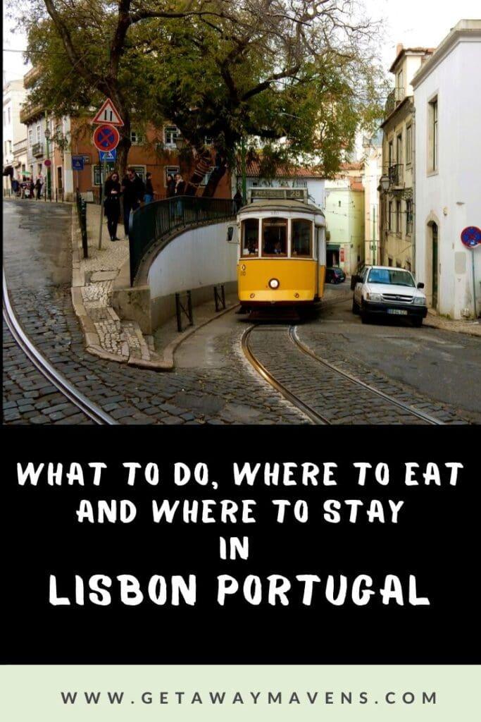 Lisbon Portugal Pin