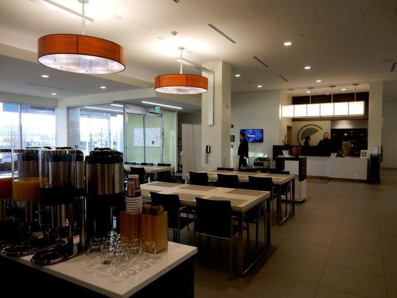 Lobby, Element Hotel Boston MA