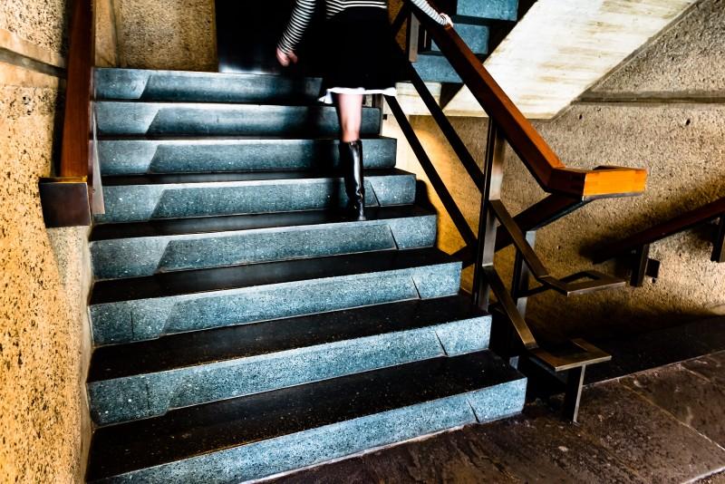 Met Breuer stairs