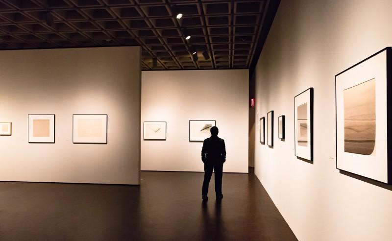 Nasreen Mohamedi exhibit