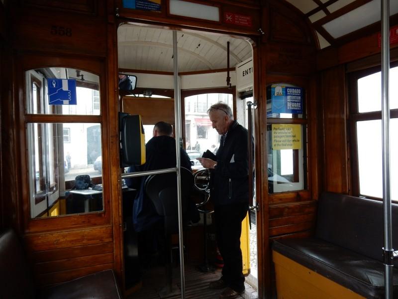 On Tram 28, Lisbon