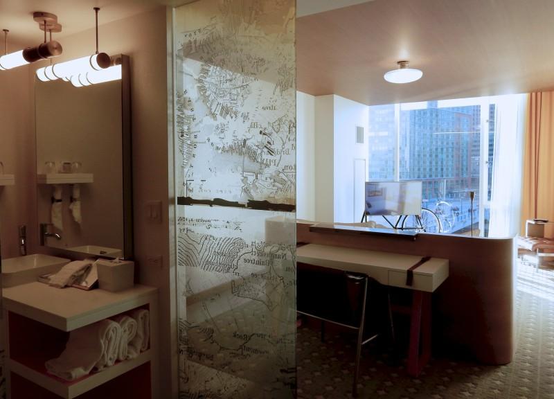 Room at Envoy Hotel, Boston MA