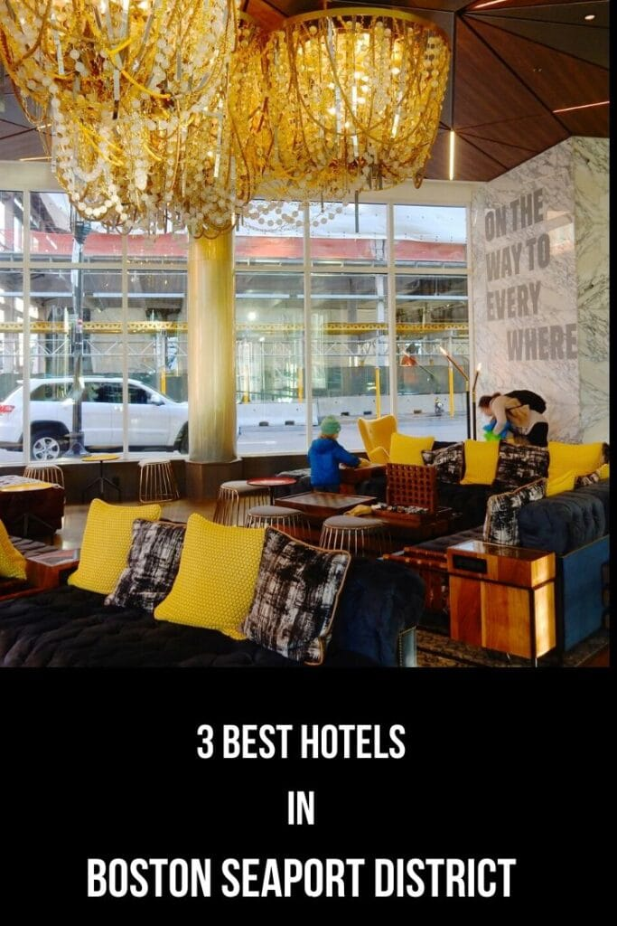 Top Hotels Boston Seaport