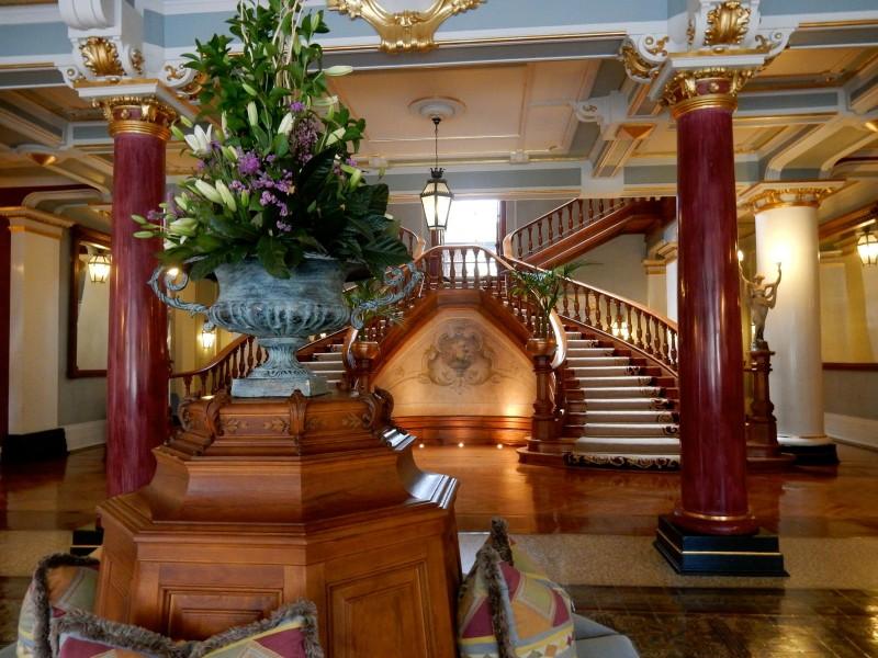 Vidago Palace Foyer, Portugal