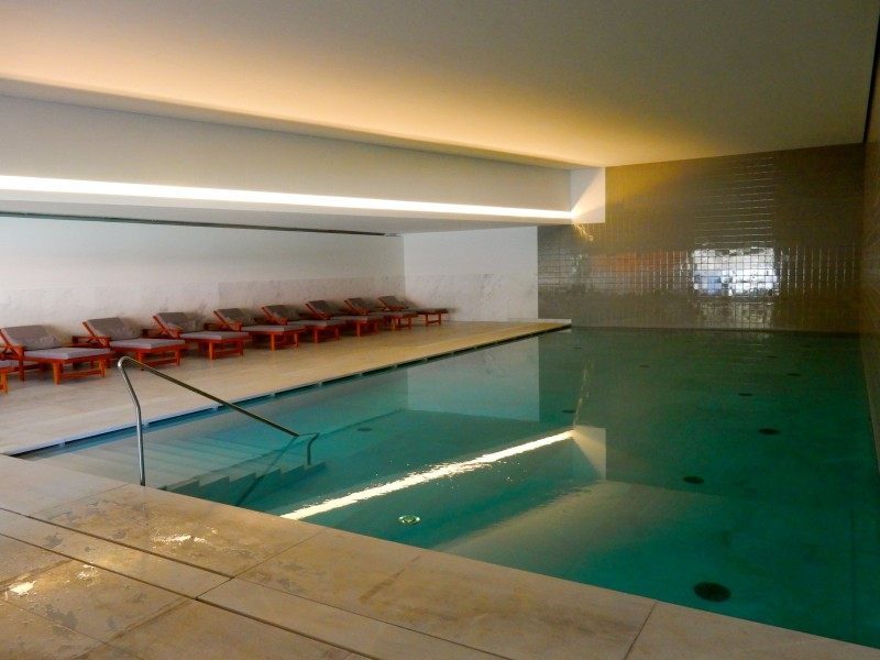 Vidago Palace Hotel Indoor Pool, Northern Portugal