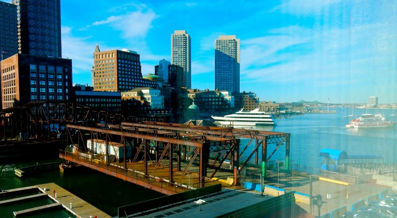 View from Envoy Hotel, Boston MA