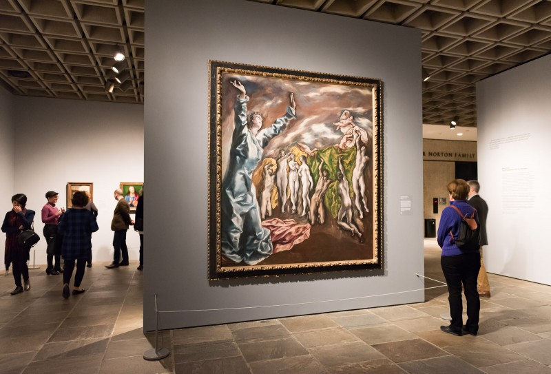 Vision of Saint John painting by El Greco at The Met Breuer