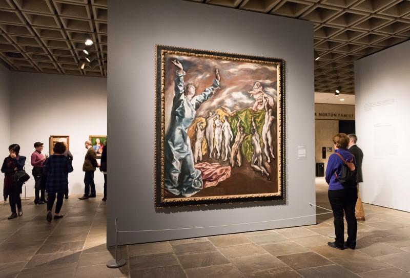 Vision of Saint John painting by El Greco at The Met Breuer