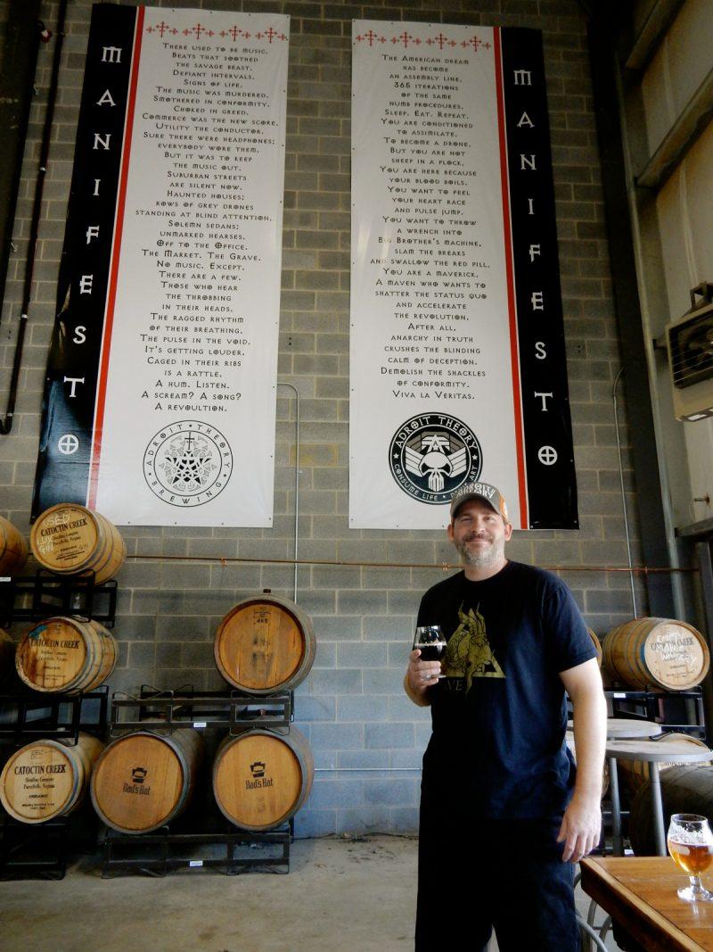 Adroit Theory Brewery, Loudoun County VA