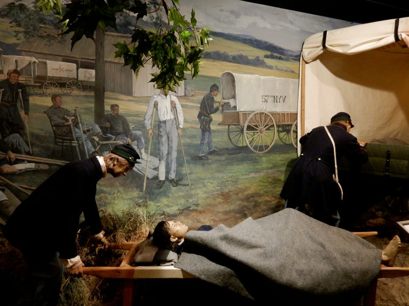 Ambulence Service, National Museum of Civil War Medicine, Frederick MD