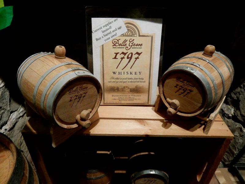 Belle Grove Whiskey, Belle Grove Plantation, Strasburg VA