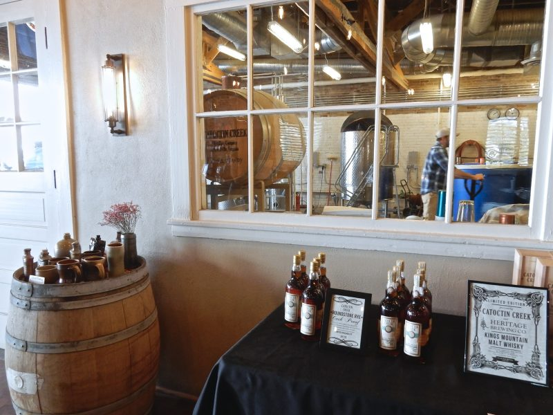 Catoctin Creek Distillery, Purcellville VA