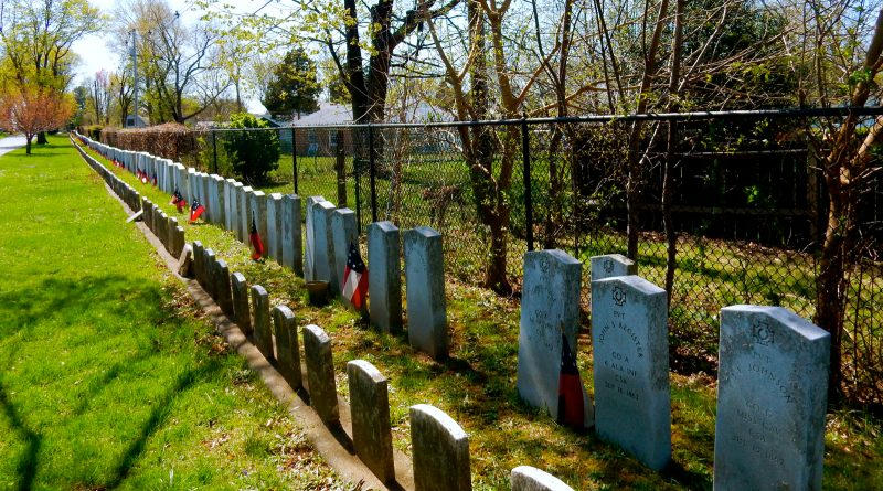 Confederate Row, Mount Olivet Cemetery, Frederick MD