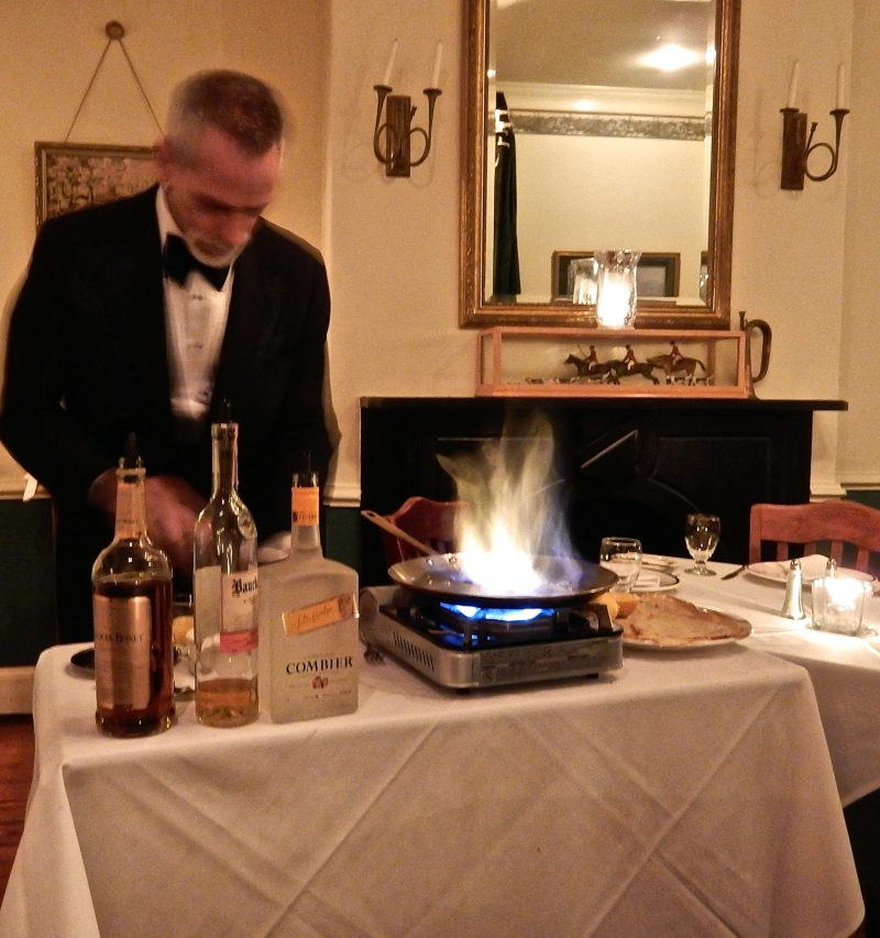 Crepes Tableside, Tersiguel's, Ellicott City, MD #Visitmd @getawayMavens